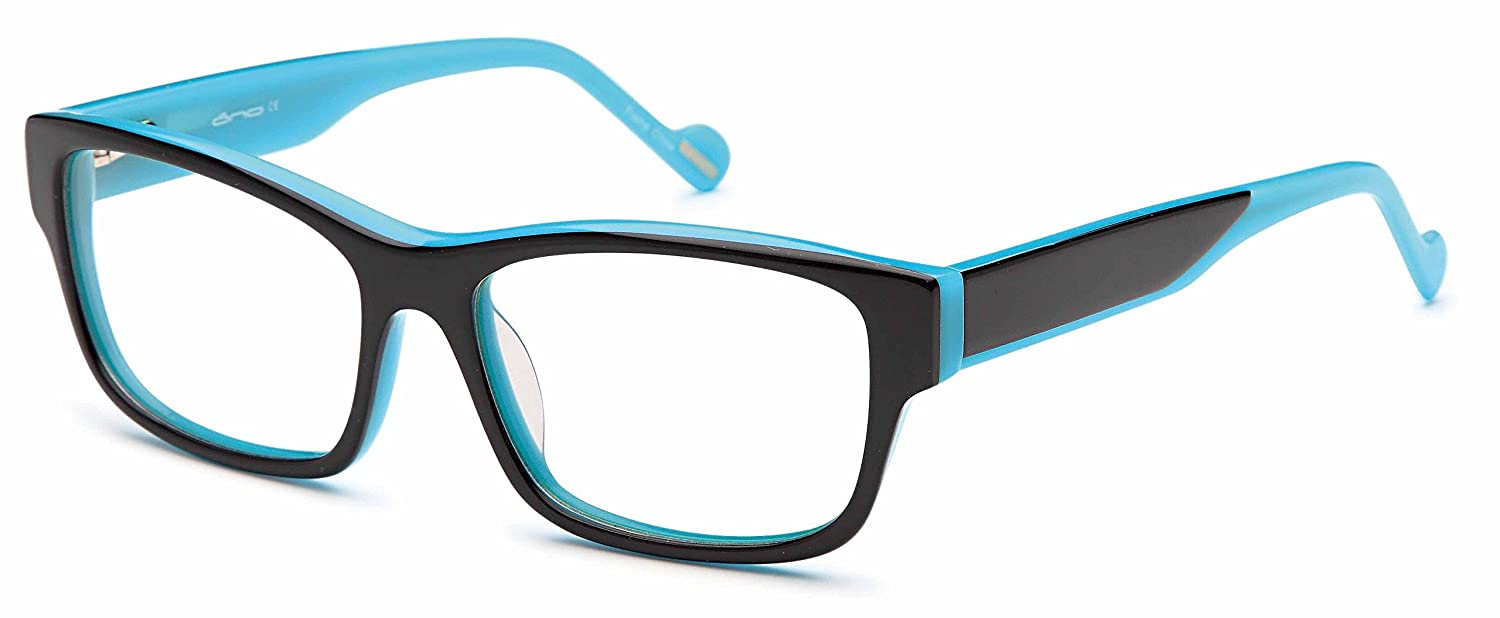 d193d25a7c Womens Futuristic Two Tone Prescription Eyeglasses Rxable 54-16-140 in Blue   Amazon.in  Clothing   Accessories
