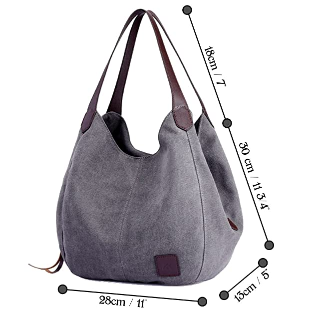 7dc85a7d5fe8 KIREI obsession Women s Shoulder Canvas Bag