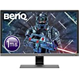 BenQ 28 inch 4K HDR Gaming Monitor, 1ms Response Time, UHD, Free-Sync, Brightness Intelligence Plus, HDMI, Speakers,28…