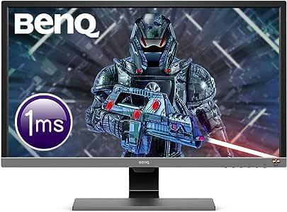 BenQ 28 inch 4K HDR Gaming Monitor, 1ms Response Time, UHD, Free-Sync, Brightness Intelligence Plus, HDMI, Speakers,28/inch,EL2870U