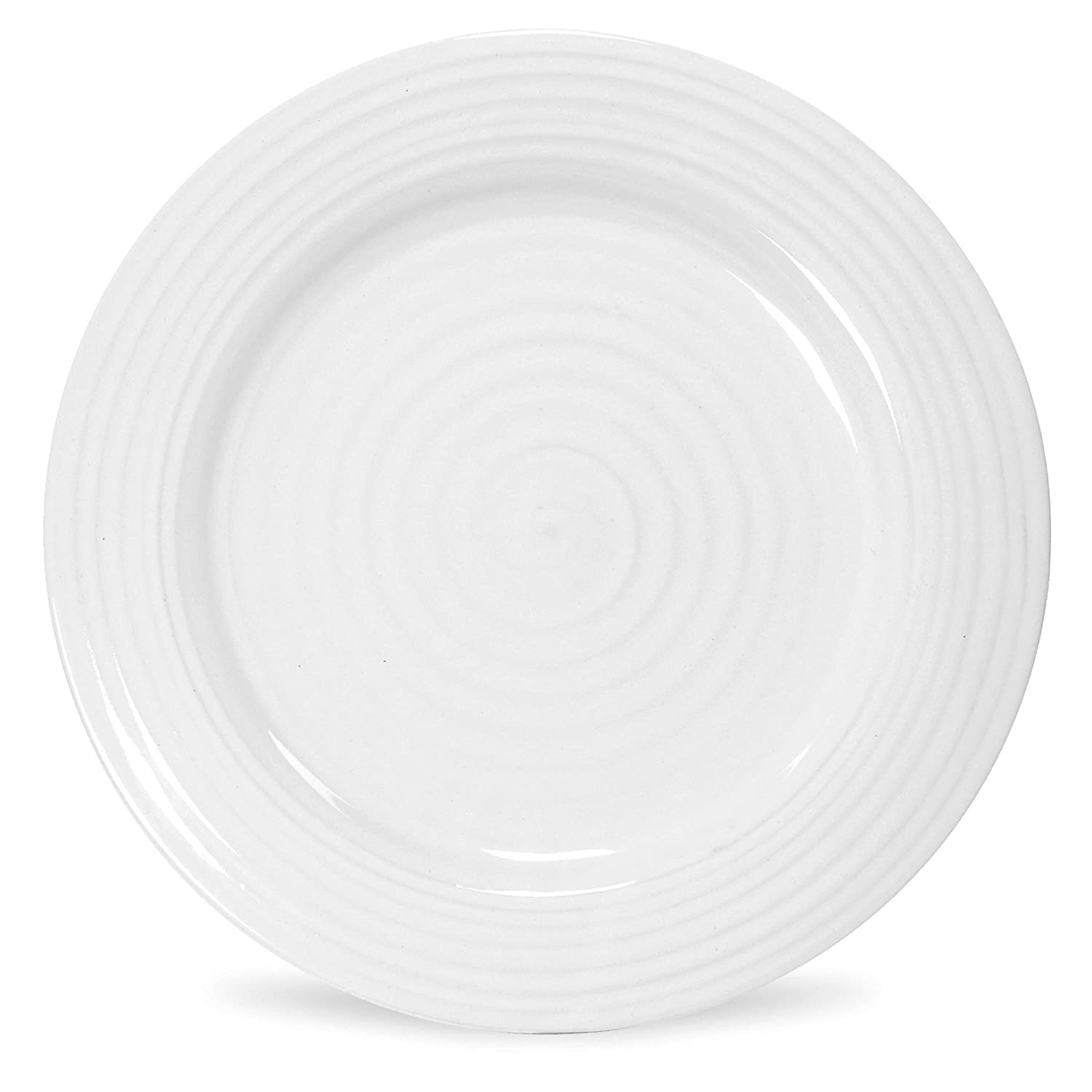 Portmeirion Sophie Conran White Luncheon Plate, Set of 4