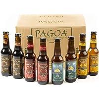 Pagoa - Cerveza Artesana - Pack Degustación 12 Botellas x 33 cl – Incluye las Variedades Pilsner, IPA, Red Ale y Cerveza…