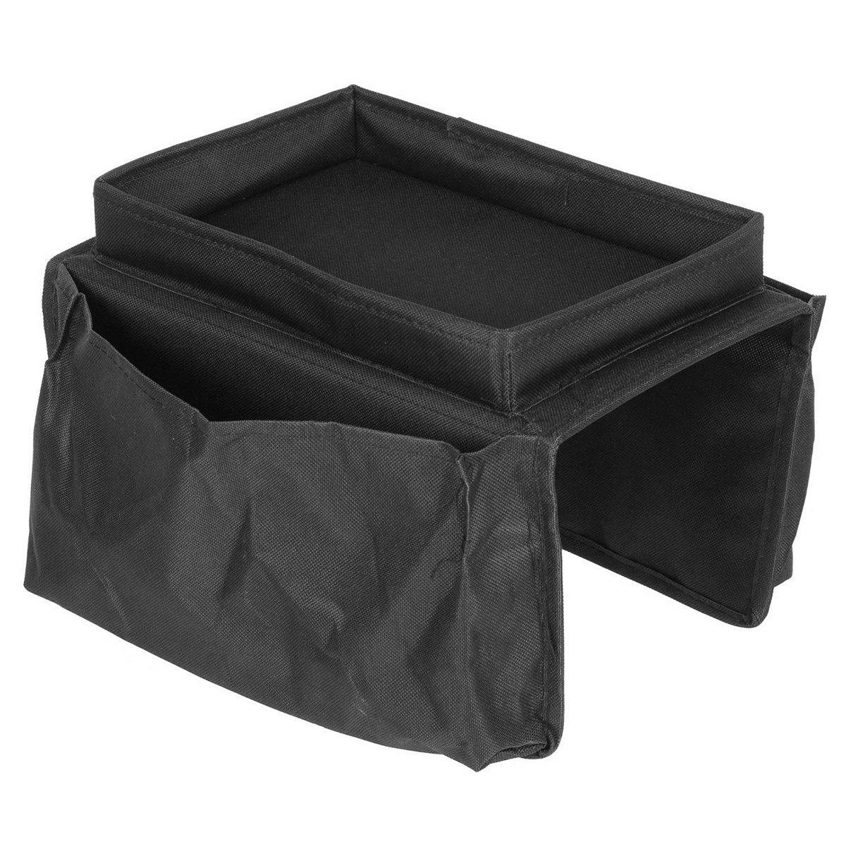 LONGQI Sofa Storage Bags mit Tablett Multifunktional Kleine Objekt Speicher