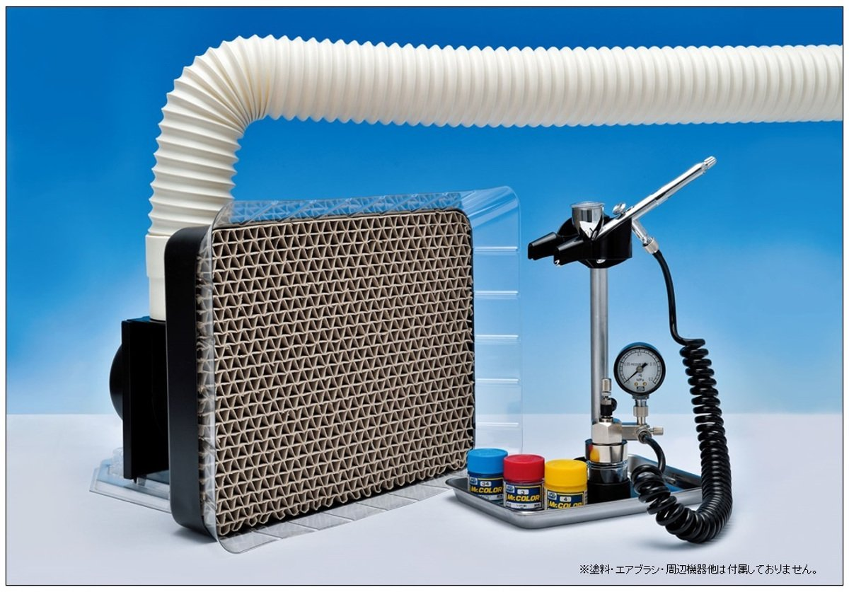 GSIクレオス Mr.スーパーブース コンパクト ホビー用塗装用具 FT03   B07783QX3F