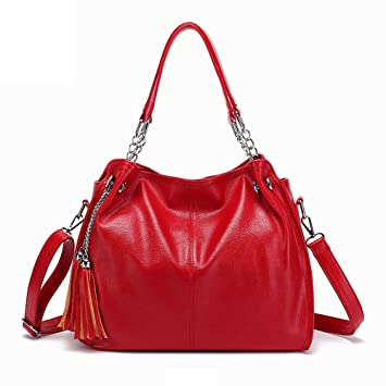 6071bbc4b617 Amazon.com: NEARTIME Women Casual Tote Bags, Fashion Versatile Solid ...