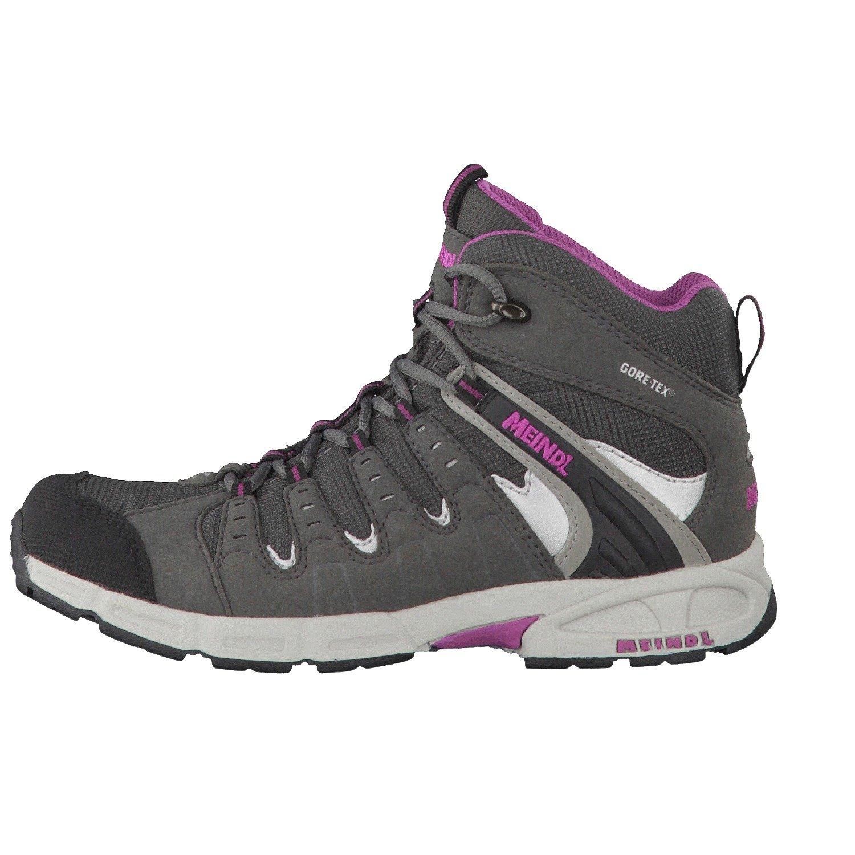 Meindl Snap Junior Mid GTX graubrombeer: : Schuhe