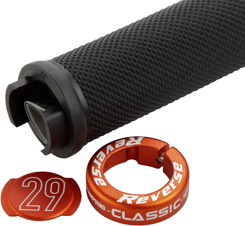 Reverse Grip STAMP Vélo schraubgriffe Noir//Orange