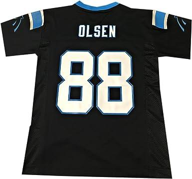 Greg Olsen Carolina Panthers  88 Black NFL Toddler Home Mid Tier Jersey ( Toddler 2T 43dda061a