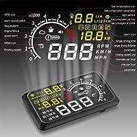 Velocímetro Digital Veicular De Para-brisa Head Up Display Plug OBDII