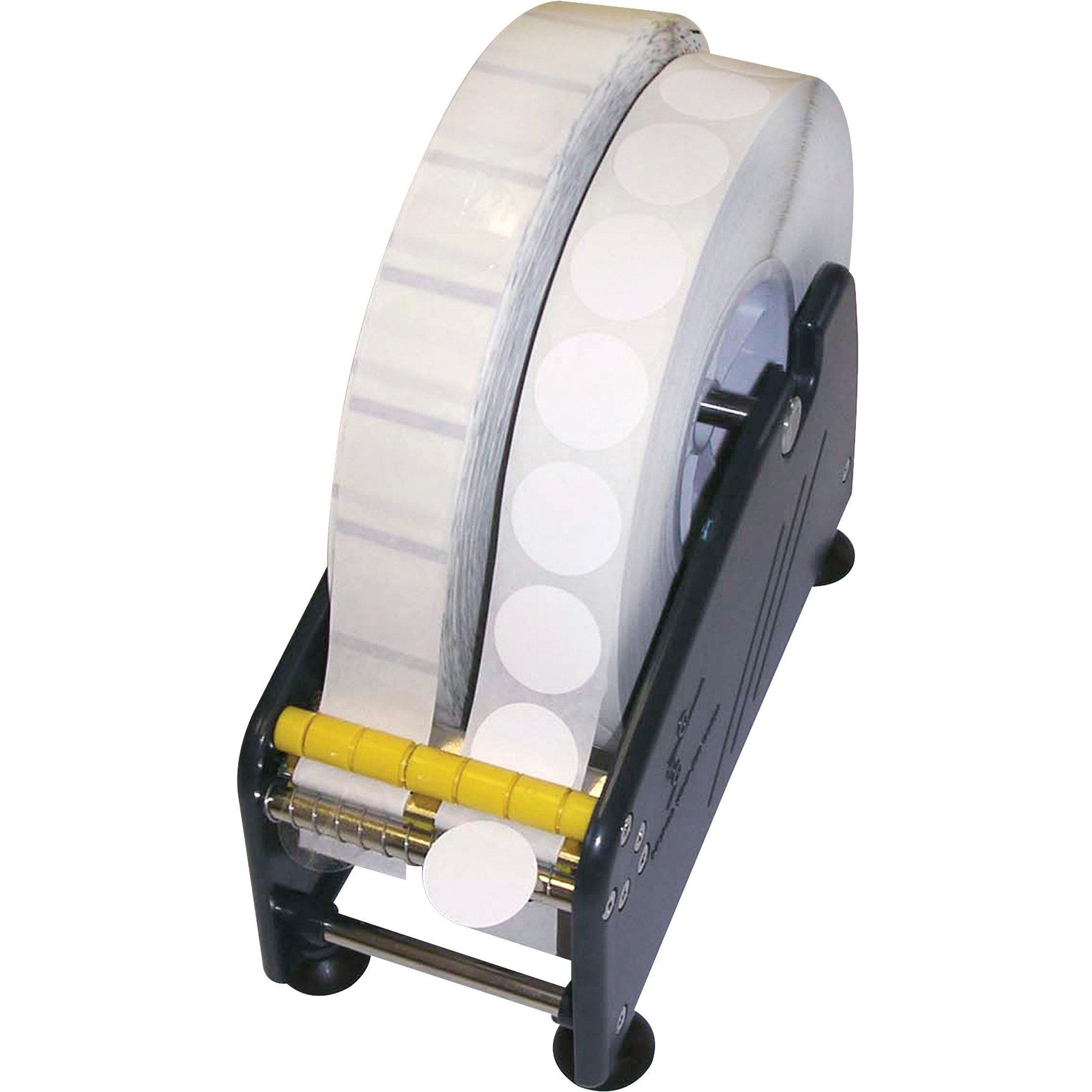 Tatco Adhesive Back Mailing Seals, TCO36100, 1in. Diameter, 3in. Core, Translucent, 5,000 per Roll