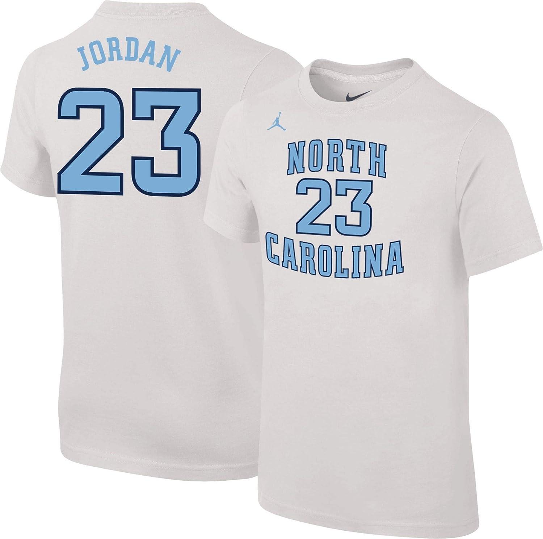 9f327805225b Amazon.com  Jordan Youth North Carolina Tar Heels Michael 23 Future Star  Replica Basketball Jersey White T-Shirt  Clothing