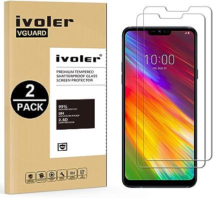 ivoler [2 Unidades] Protector de Pantalla para LG Q9 / LG G7 Fit ...