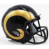 LOS ANGELES RAMS NFL Riddell Speed POCKET PRO MICRO / POCKET-SIZE / MINI Football Helmet