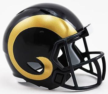 Riddell Los Ángeles RAMS NFL Speed Pocket Pro - Casco de fútbol (tamaño pequeño): Amazon.es: Deportes y aire libre