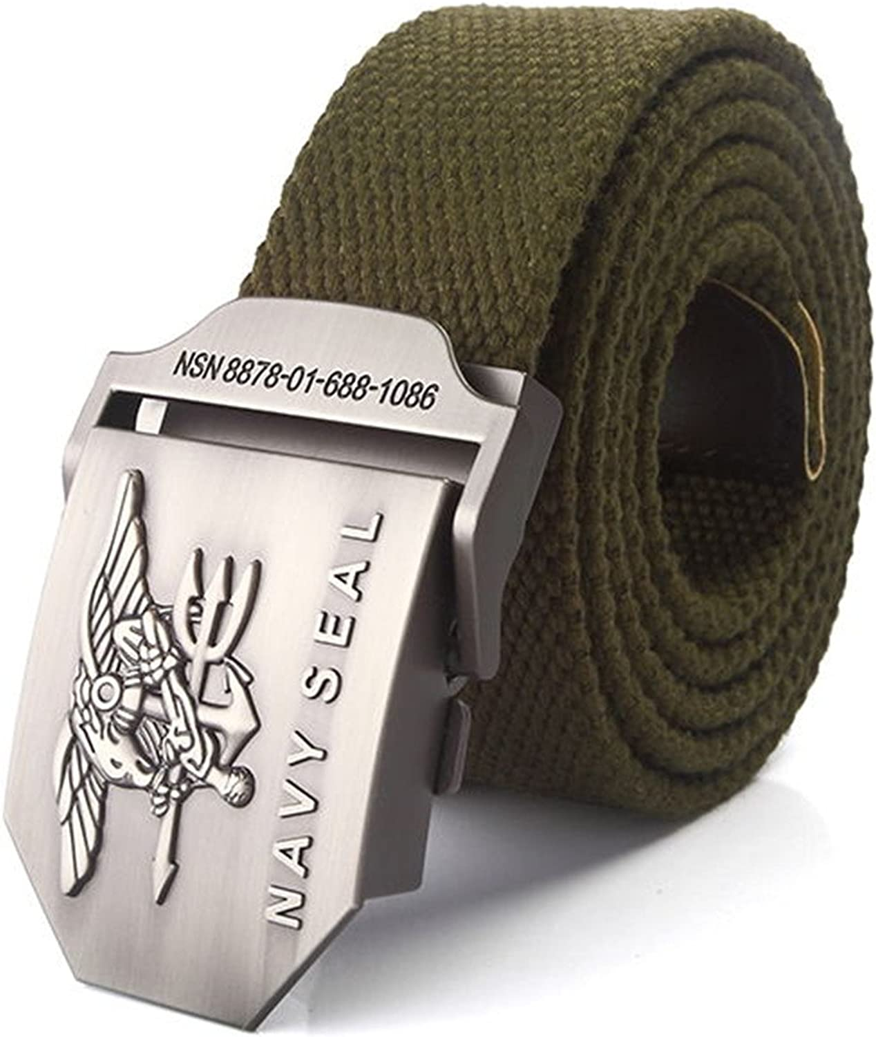 Meetloveyou mens NAVY SEAL metal buckle military belt Army tactical belts for Male top quality men strap Black strips