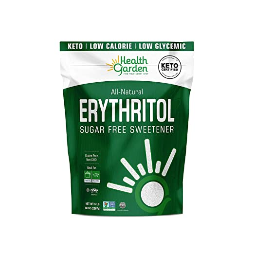 Health Garden Erythritol Sugar Free Sweetener (5 lbs)