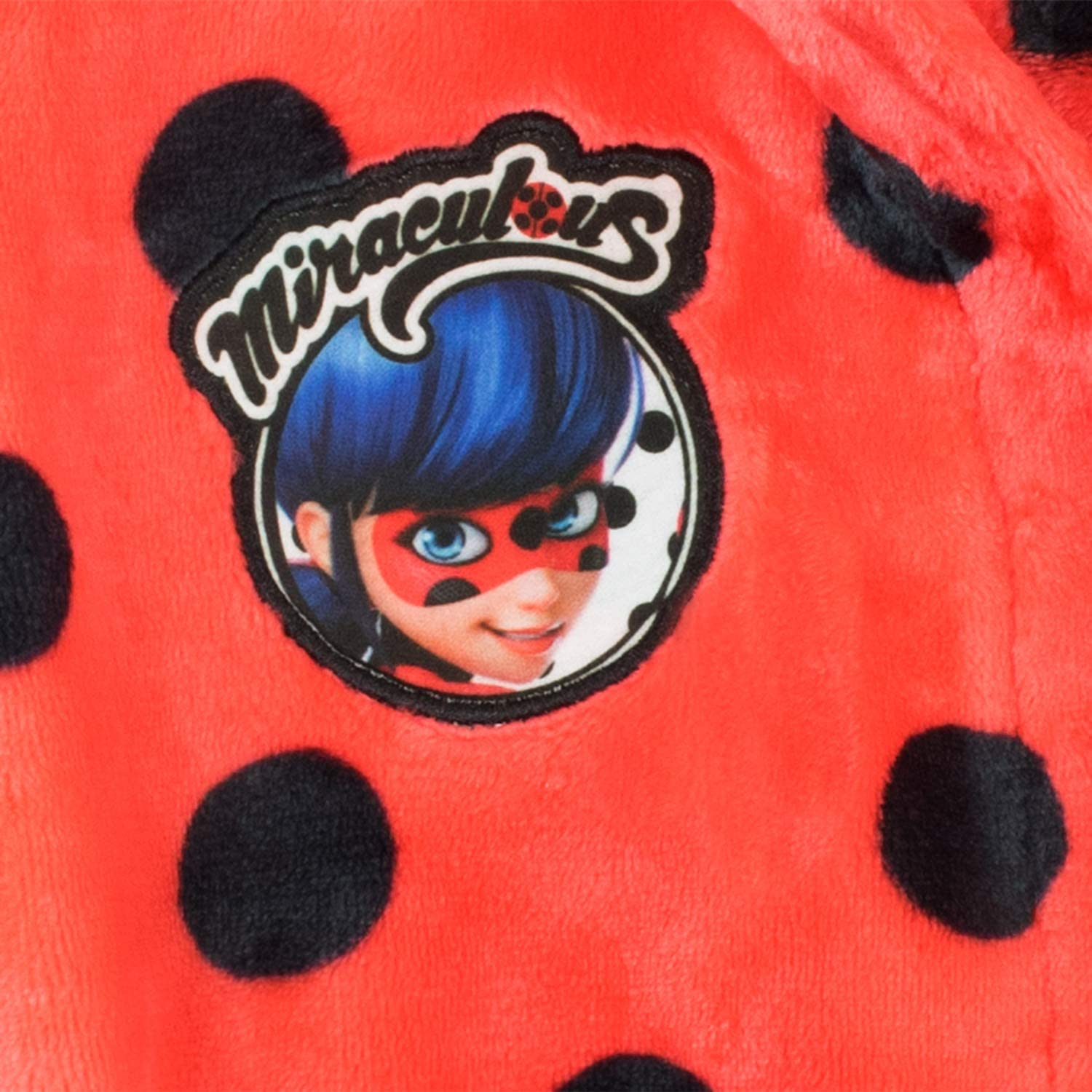 Miraculous Girls Ladybug Dressing Gown