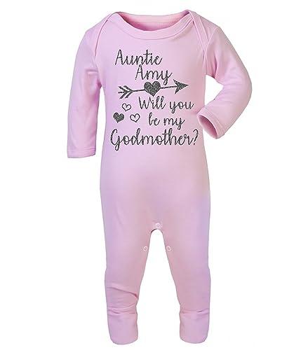 Personalised auntie godmother babygrow baby vest new baby gifts will personalised auntie godmother babygrow baby vest new baby gifts will you be my godmother personalised babywear negle Gallery