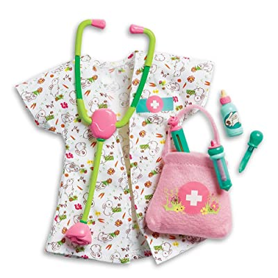 American Girl FLM97-9665 Welliewishers Woodland Animal Vet Set Doll Playset: Toys & Games