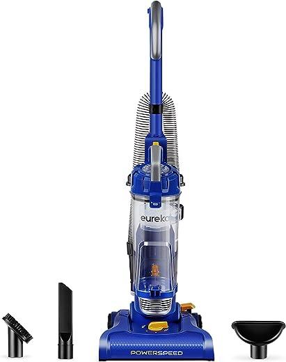 Eureka PowerSpeed Bagless Upright Vacuum Cleaner, Lite, Blue
