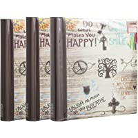 ARPAN Self-Adhesive Photo Albums with Totalling 60 Sheets/120 Sides