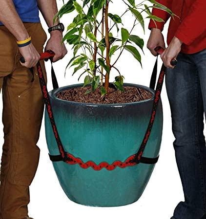 PotLifter - Potted Plant Mover and Essential Lifting Tool For Garden Flower  Pots, Planters, Trees, Rocks - Lifts Up to 200 Pounds - A Plant Caddy