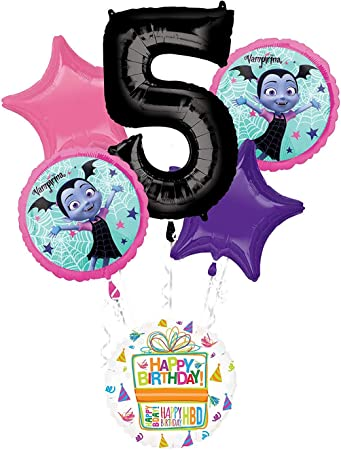 Amazon.com: Mayflower Products Vampirina - Ramo de globos ...