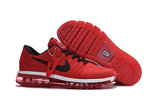 low priced 8212a 59aa6 ... best price new arrival nike air max 2017 mens red black 849560 080  running shoe 080a9
