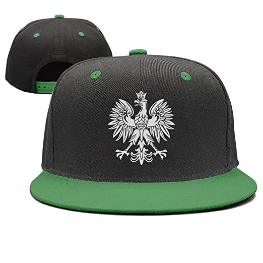 Lenard Hughes Unisex Polska Eagle Poland Pride Baseball Hats Adjustable Hip-Hop  Caps a6f9f78d337e