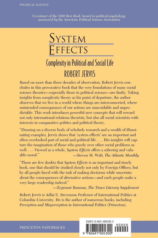 System effects robert jervis 9780691005300 amazon books fandeluxe Gallery
