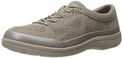 Skechers Lite Step-Reactive, Zapatillas para Mujer, Beige (Dktp), 36