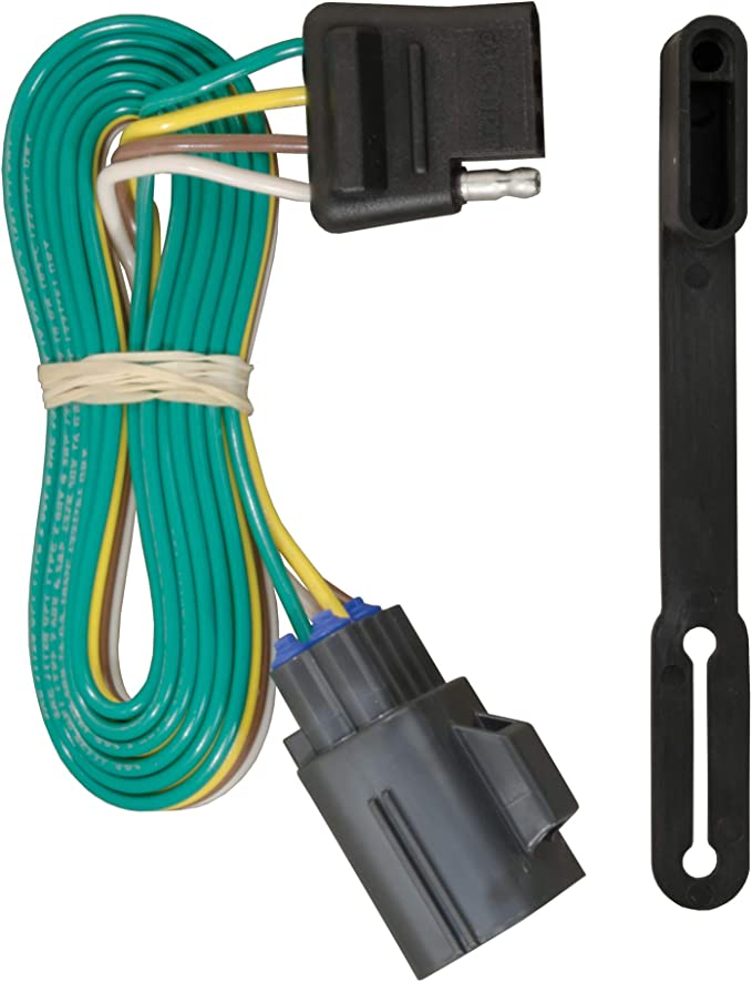 Amazon.com: CURT 56245 Vehicle-Side Custom 4-Pin Trailer Wiring Harness,  Select Chevrolet Traverse, GMC Acadia, Buick Enclave: Automotive Amazon.com