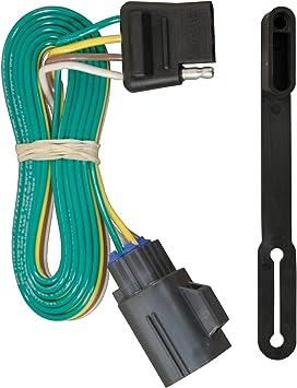 Amazon.com: CURT 56245 Vehicle-Side Custom 4-Pin Trailer Wiring Harness,  Select Chevrolet Traverse, GMC Acadia, Buick Enclave: Automotive | 2015 Acadia Trailer Wiring Diagram |  | Amazon.com