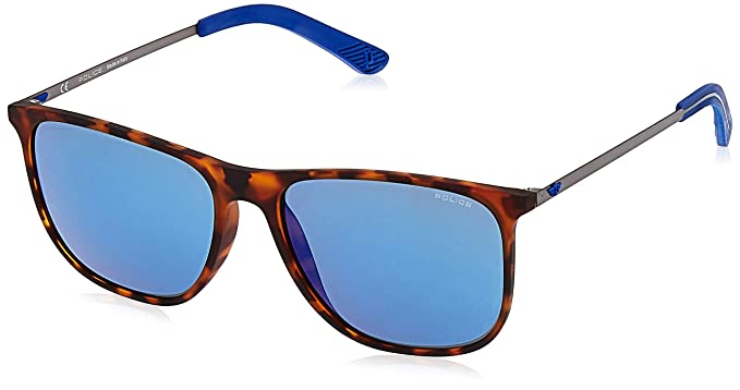 Police Edge 5 Gafas de sol, Multicolor (Havana Rubberized ...