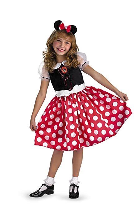 Disney Mickey Mouse Minnie Mouse Classic Girls Costume Small/4-6x  sc 1 st  Amazon.com & Amazon.com: Disney Mickey Mouse Minnie Mouse Classic Girls Costume ...