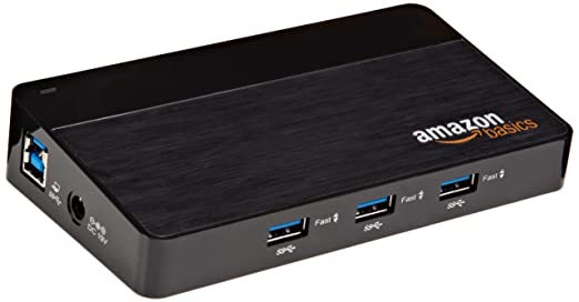 1449 opinioni per AmazonBasics- Hub USB 3.0 a 10 porte