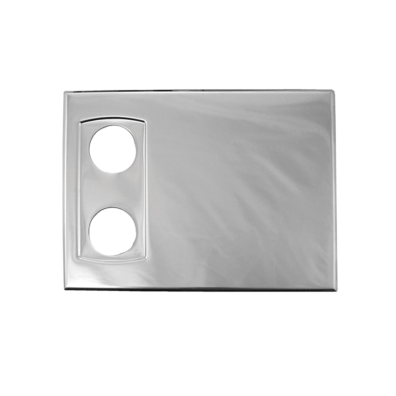 Set of 2 WingIts OCP-BS OVAL Suite Polished Stainless Steel Cover Plate