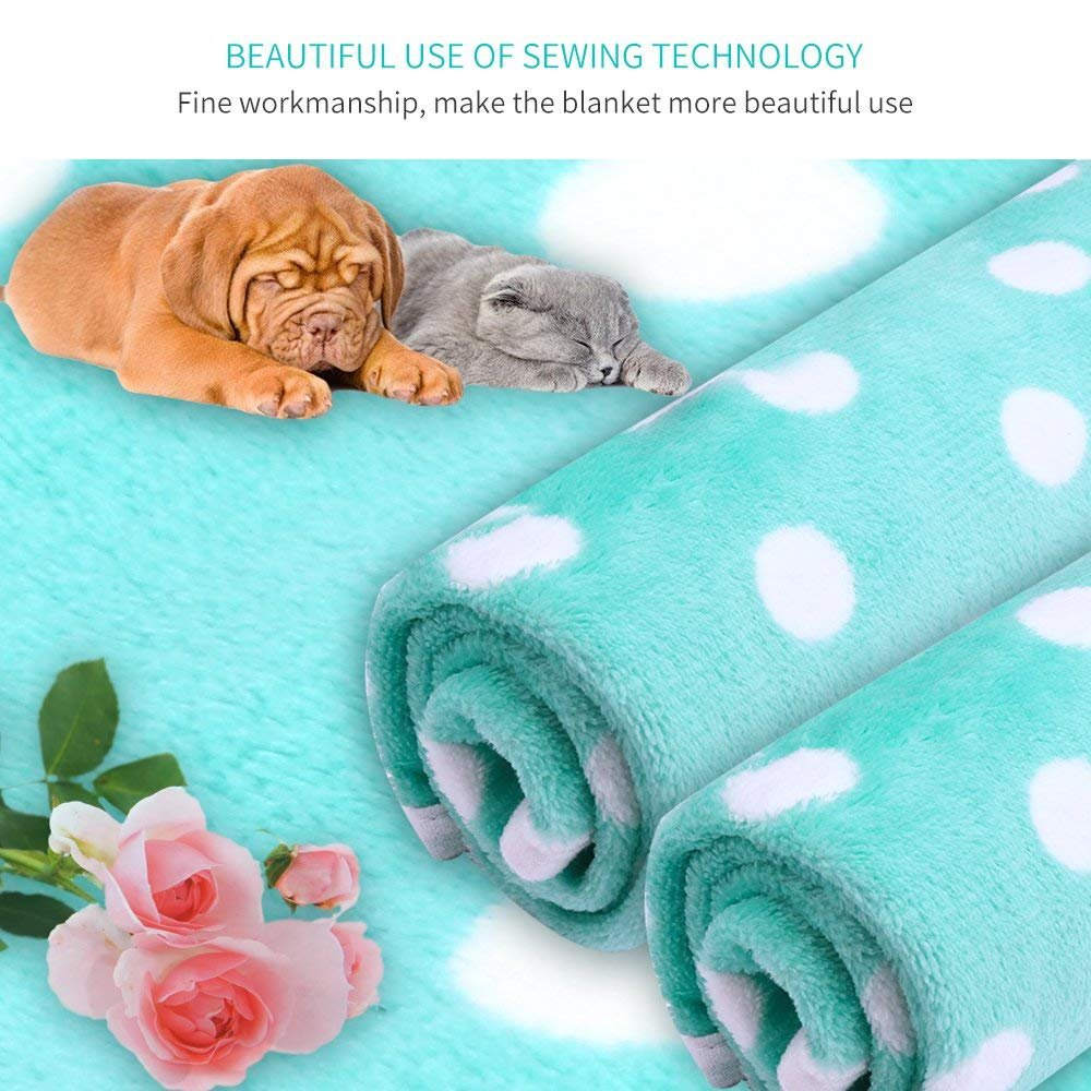 Pet Dog Blanket - Cat Puppy Blanket Soft Warm Sleep Mat Couch,Car, Bed - Dog Cat Other Small Animals (Pet Blanket) by BAODATUI (Image #7)