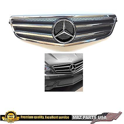 Amazon com: Mercedes-Benz W204 C-Class chrome-black grille
