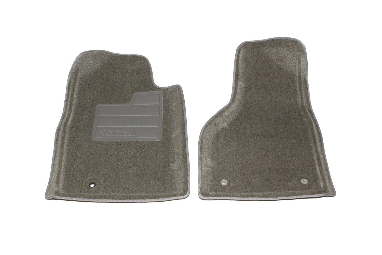Coverking Custom Fit Front Floor Mats for Select Chevrolet Malibu Models Black Nylon Carpet