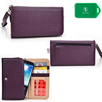 Amazon.com: [Best Seller] Cell phone wallet with removable wristlet strap- Compatible with Samsung Galaxy S5 ACTIVE / S5 PLUS, Samsung Galaxy S6: Beauty