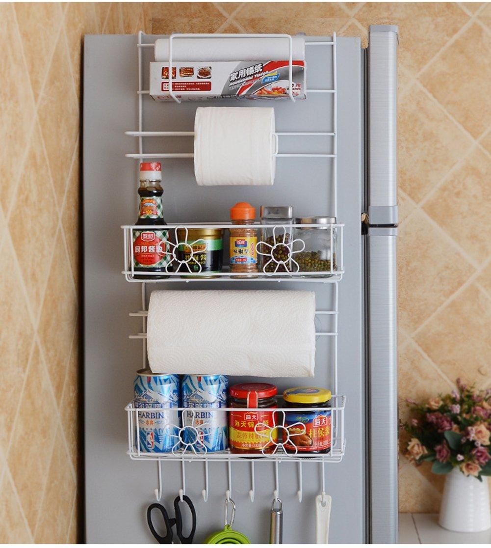 fast shipping worldwide Refrigerator Side Storage Rack Hanging ...