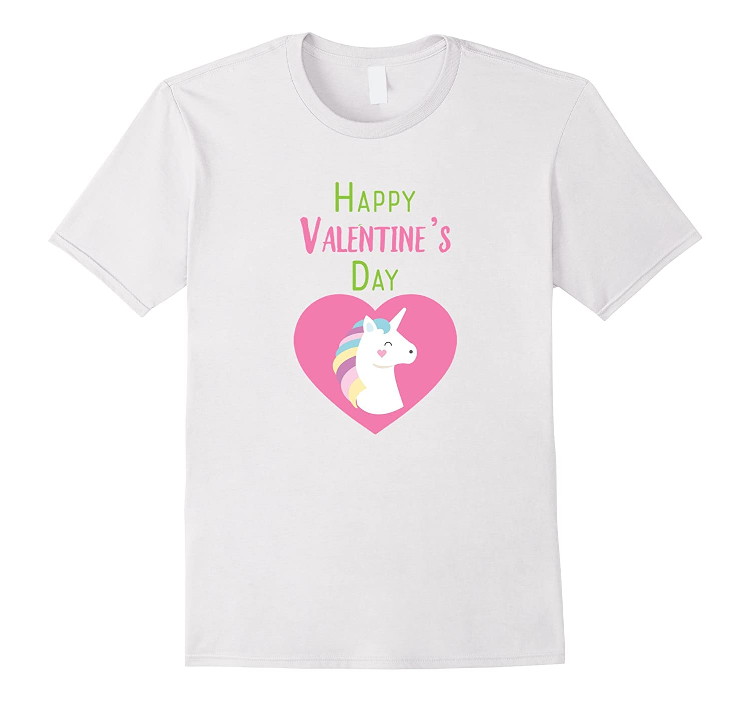 Valentines Day Cute Unicorn T Shirt For Kids Cl Colamaga