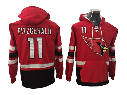 05177d345b86 Fitzgerald 11 Cardinals Football Hoodie Men Onesie Sweatshirt Champion Tank  top Sweaters Pullover Jersey (M