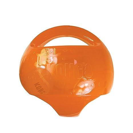 KONG - JumblerTM Ball - Juguete con pelota de tenis - Raza mediana ...