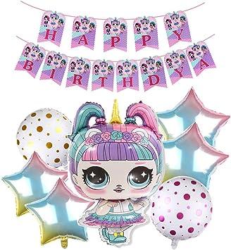 Amazon.com: Msltr 8 piezas LOL suministros de fiesta – lindo ...