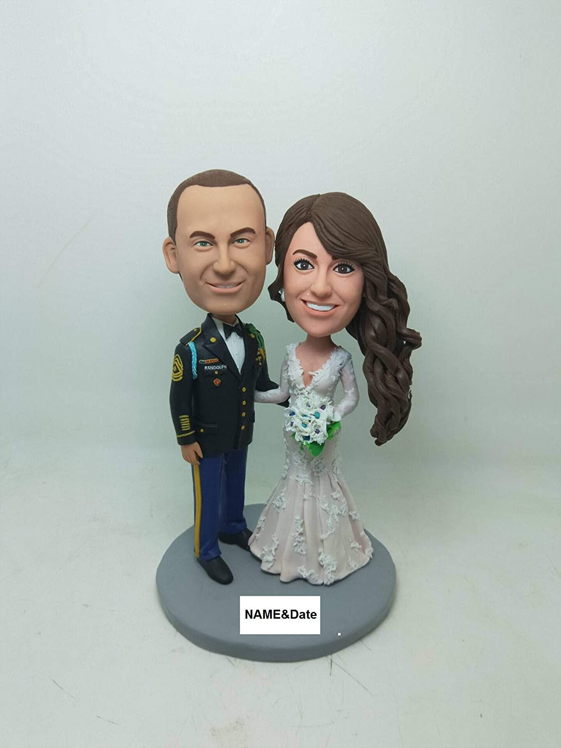 Amazon Com Military Wedding Topper Military Personalized