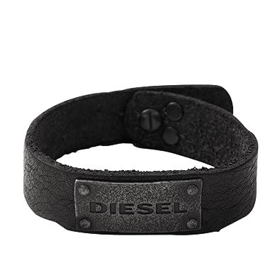 Lederarmband herren diesel  Diesel Herren-Armband DX0569040: Amazon.de: Schmuck
