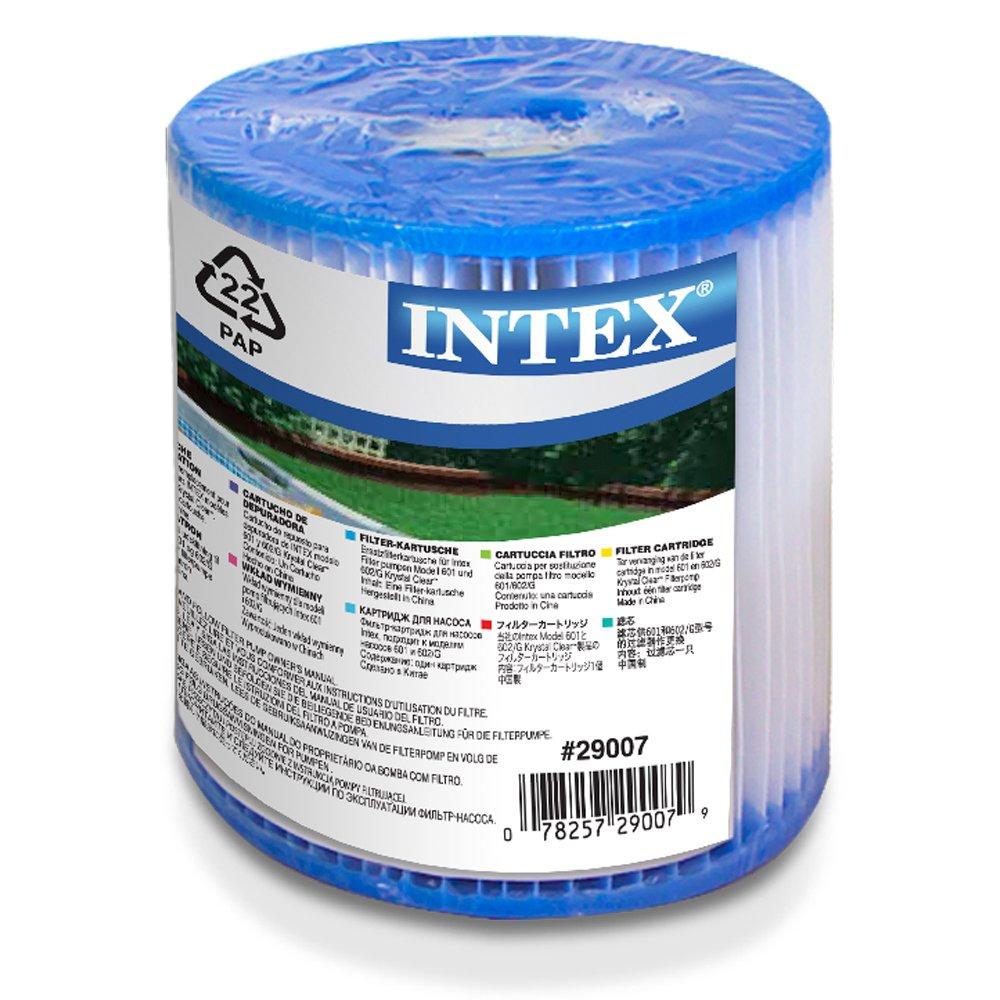 Intex 29007 - Cartucho tipo H altura 10 cm y diámetros 9-3 cm: Amazon.es: Jardín