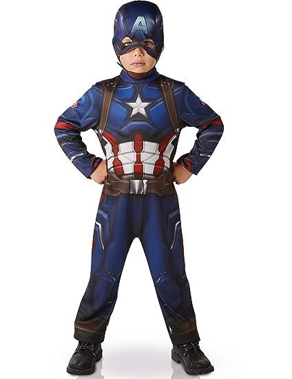 Marvel - I-620678 Traje clásico de niños Guerra civil, S (3- 4 años)